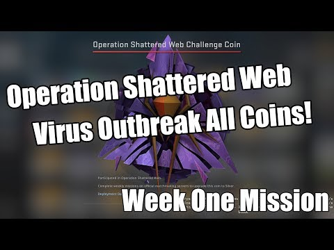 ALL COIN LOCATIONS IN CSGO NEW OPERATION! - CSGO Shattered Web Operation