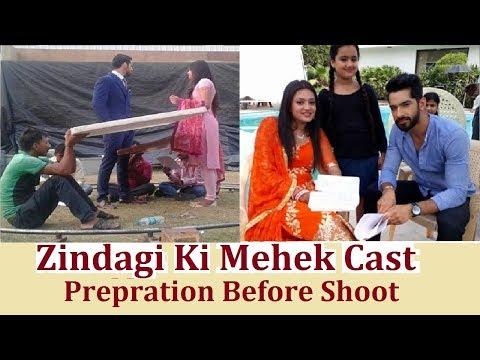 Zindagi Ki Mehek Cast ! Mehek Cast Prepration Before Shoot !