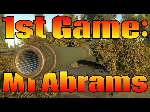 BONUS VIDEO: My 1st Abrams Battle (M1 Abrams War Thunder Gameplay)