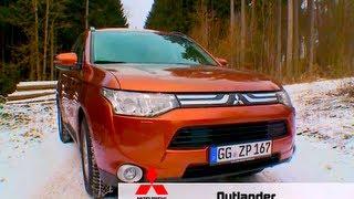 Mitsubishi Outlander - Test it