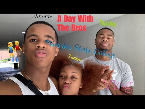 A day with the bros at Gordon State College -VLOG??