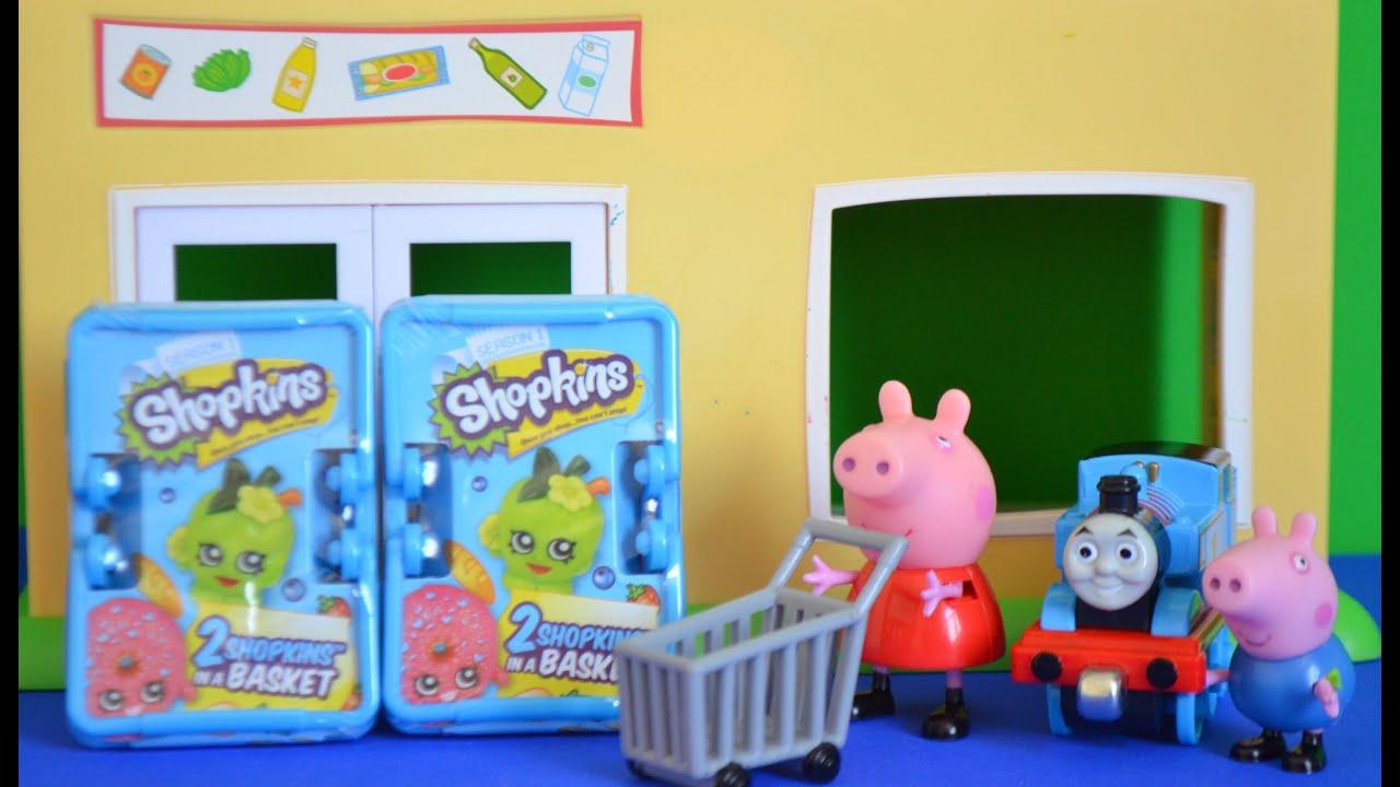 peppa pig episode shopkins thomas and friends goes. Black Bedroom Furniture Sets. Home Design Ideas