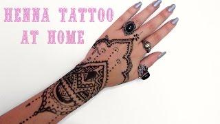 Πώς κάνω henna tattoo μόνη μου ♥ Venetia Kamara