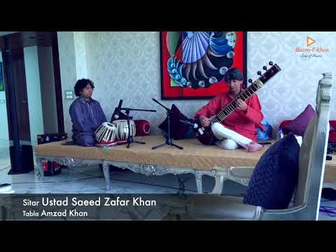 Saeed Zafar Khan(Sitar)- Live Concert   Bazm E Khas