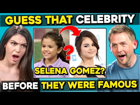 Guess That Celebrity From Before They Were Famous
