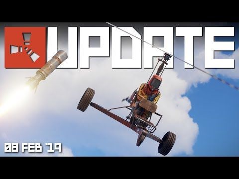 MINICOPTER is in! | Rust Update 8th February 2019