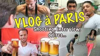 Vlog à PARIS LOUPAGE de Train INTERVIEW & SHOOTING Photo