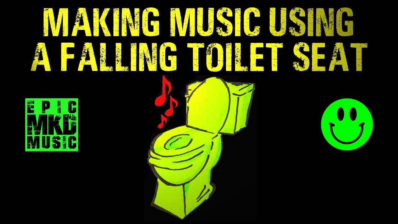"Trailer. How to make music using a falling toilet seat :-). Tutorial. ""One Sound"" series."