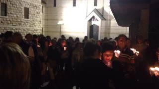 Nazareth - Procession at the Annunciation I