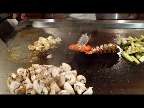 Teppanyaki Show at Benihana - Toronto, Ontario [Travelling Foodie]
