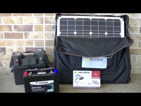 Installing 4kw Hr Battery Bank With 800w 120v Inverter