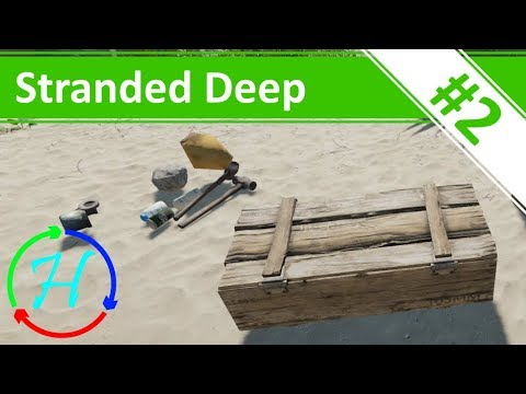 Learning To Hunt & Making A Solar Sill - Ep.2 - Stranded Deep