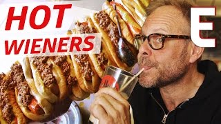 Alton Brown Prefers This Rhode Island Wiener Joint Over Fine Dining - On Tour With Alton Brown