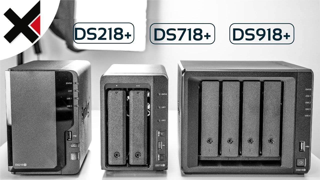 Synology DiskStation DS218+ DS718+ DS918+ Kaufempfehlung 2017/2018   iDomiX