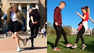 ... when you get bored of handshakes, try out a footshake! grab friend and creative that footwork! #footshake on musically i hope