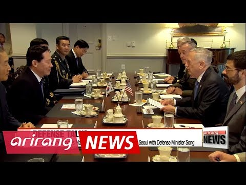 U.S. Defense Secretary Mattis to visit Seoul for annual security talks