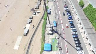 Brighton Bungee Jump 2015- Drone View