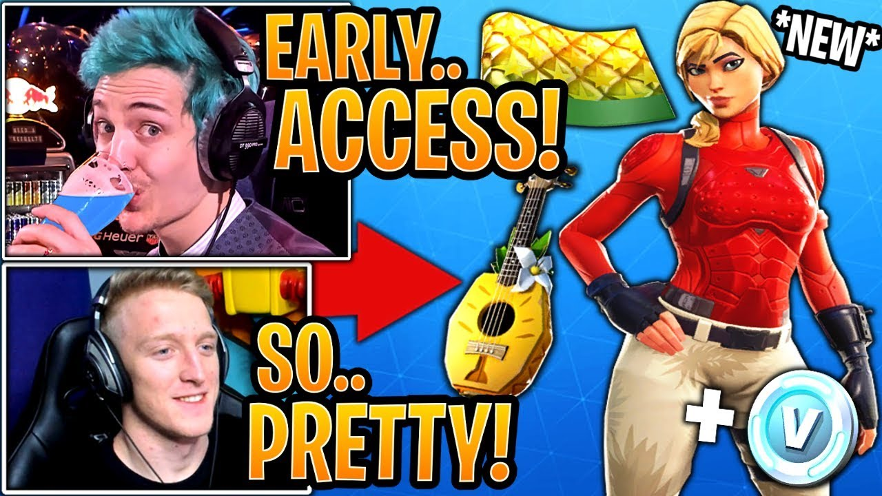 Streamers Get React To The New Starter Pack Laguna Skin