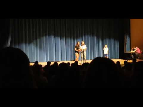 Danielle Talent Show Kingsford Middle School 5-30-2019