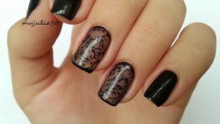 Дизайн ногтей гель-лаками в технике ВУАЛЬ/ КОЛГОТКИ(, 2014-11-18T08:59:11.000Z)
