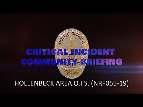 Hollenbeck Area OIS 11-29-2019 (NRF055-19)