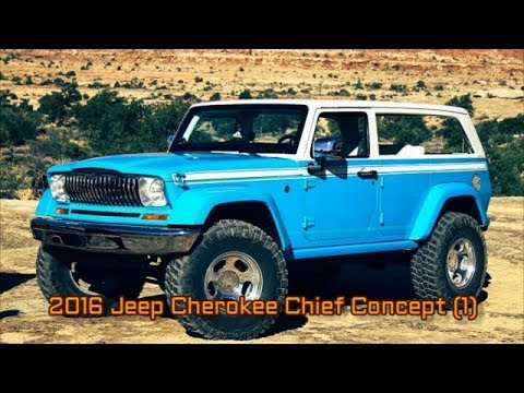 2016 Jeep Cherokee Chief Concept 1