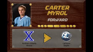 Carter Myrol - CSSHL to AJHL | Stand Out Sports Hall of Fame