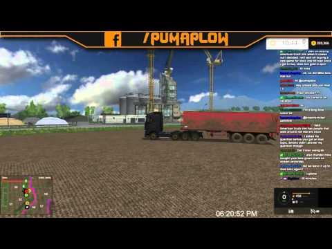 Twitch Stream: Farming Simulator 15 PC Open Server 01/25/16 Part 1