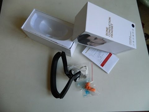 ZD100 Bluetooth гарнитура с динамиками костной проводимости складные