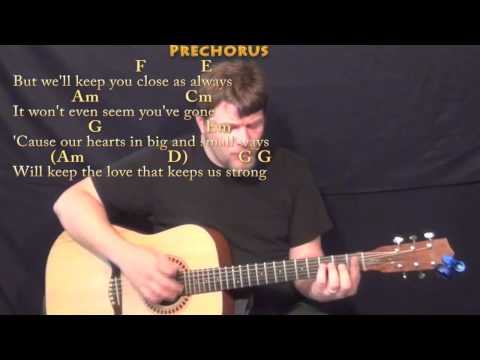 Friends Are Friends Forever - Strum Guitar Cover Lesson with Chords/Lyrics
