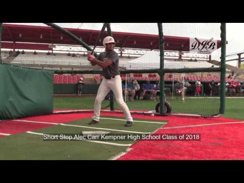 Short Stop Alec Carr Kempner High School Class of 2018