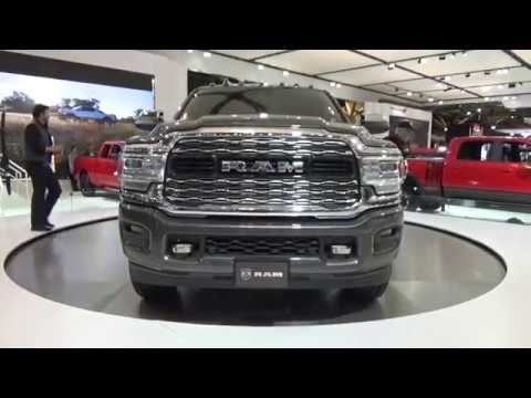 2019 NEW RAM 2500 LTD. CANADIAN INTL AUTO SHOW, MTCC. FEB 21/2019.