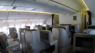 Flight Report | Garuda Indonesia Boeing 777 Executive Class Amsterdam to London Gatwick