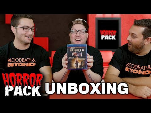 Horror Pack October 2015 Unboxing! - Horror Movie Subscription Box