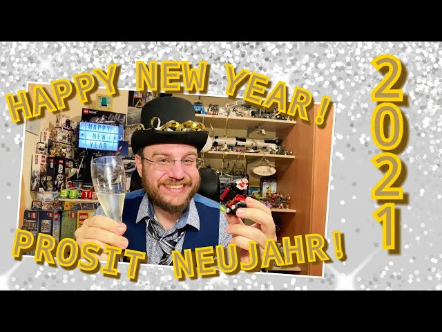 Happy New Year! – Welcome 2021! - (El Fuego's Stunt Cannon - Part 2 - Lego Polybag 30464)