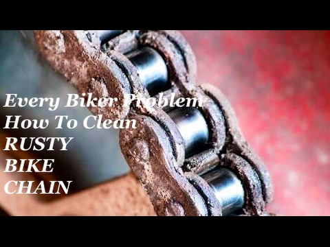 how-to-clean-rusty-chain-at-home-with-wd-40?-(english)-|-monsoon-season-problem-|-diy-~-skinny-rider