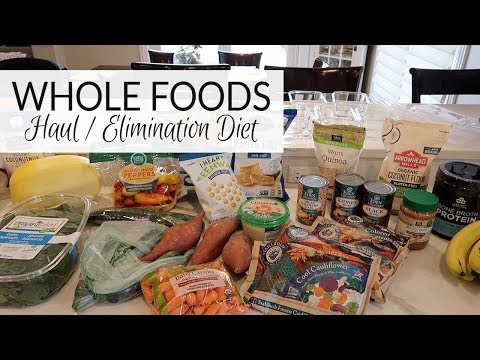 Whole Foods Haul | Elimination Diet (Breastfeeding)