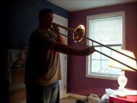 12 Major Scales on Trombone