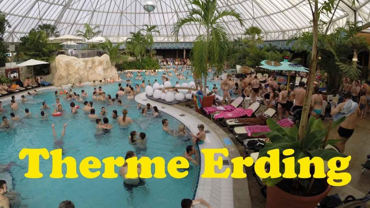 Therme Erding (GoPro HD) - YouTube  Therme Erding (...