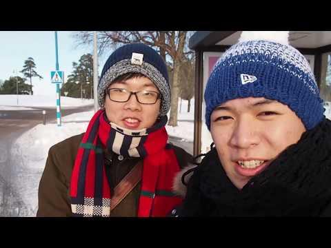 Sweden Exchange in Linköping 2016: IKEA+Snowing+Corridor Tour