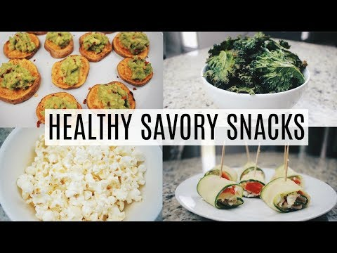 Simple Healthy Savory Snack Ideas
