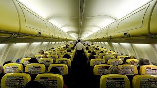 Ryanair plane makes emergency landing after descending 27,000 ft in seven minutes