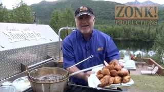 Smokeejo's Deep Fried Marinated Salmon