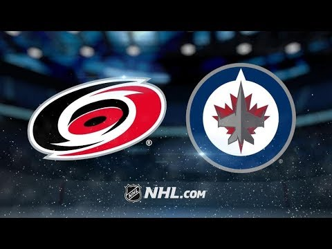 Carolina Hurricanes Vs. Winnipeg Jets | NHL Game Recap | October 14, 2017 | HD