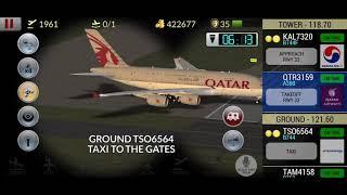 Unmatched Air Traffic Control ( A380 Qantas, Qatar Airways A380, Emirates A380)