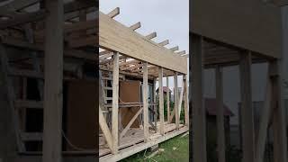 Крыша односкатная утеплённая