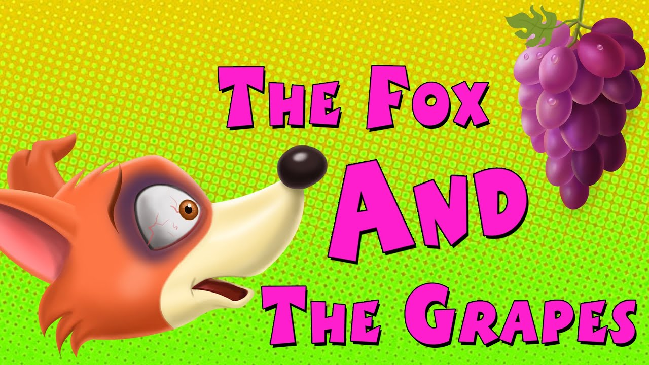 The Fox and the Grapes || English Animated Short Stories For ... for Grapes Animated  300lyp