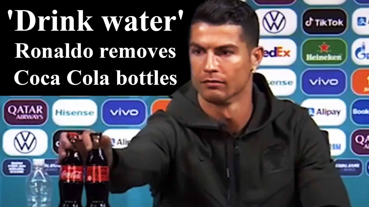 Coca-Cola's losses in brand value after Ronaldo gesture   The Daily Star