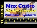 Selección de huaynos - Max Castro (tutorial de guitarra con tablatura)