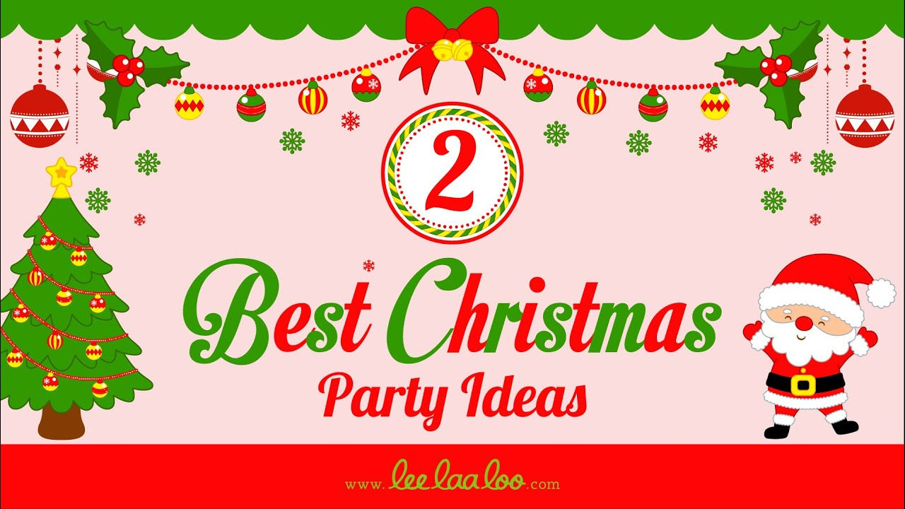 Best Christmas Party Theme Ideas Part - 30: 2 Best Christmas Party Ideas